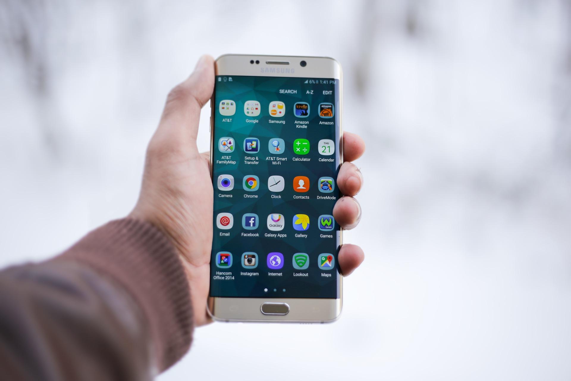 Samsung: Wie lange bin ich am Handy?