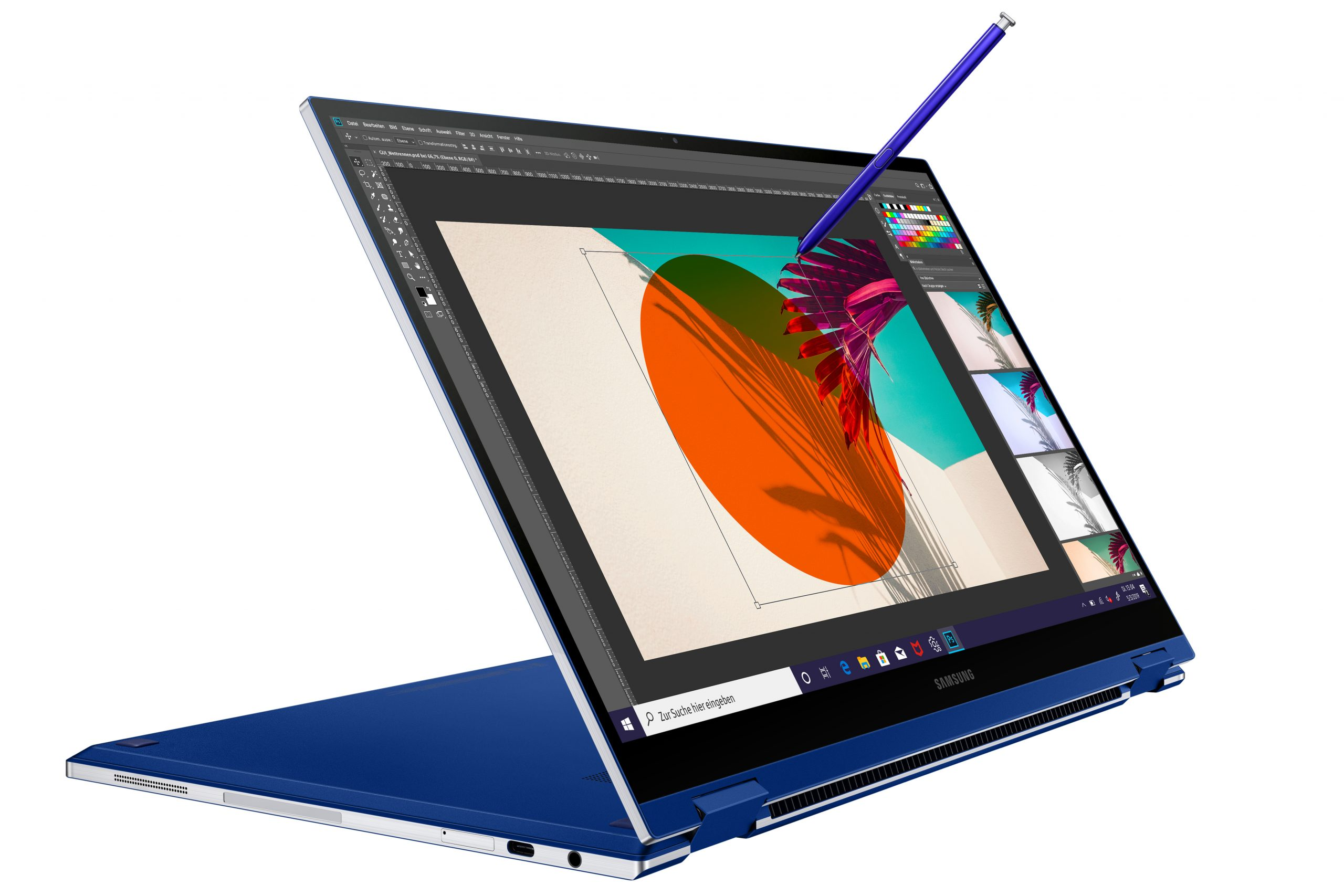 Samsung Galaxy Flex - Notebook und Tablet in einem