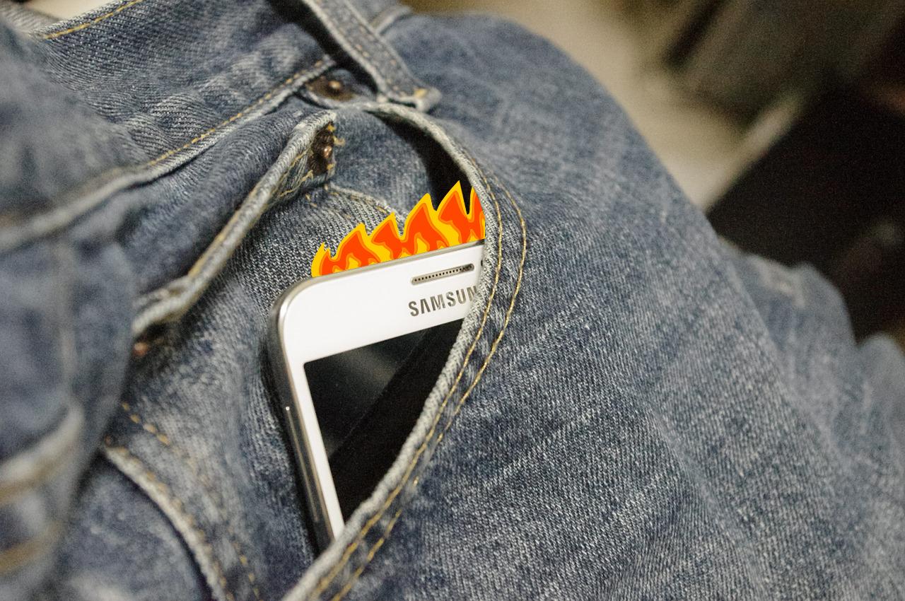 Samsung Galaxy Smartphone überhitzt: Handy wird zu heiß