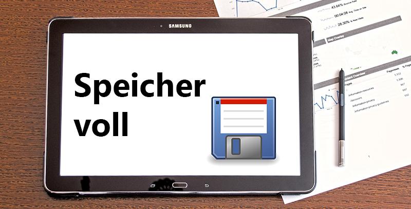 Samsung Tablet: Speicher voll – was tun?